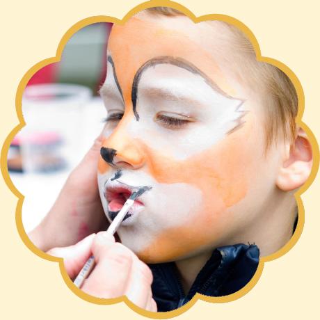 kinderschminken-schnitt